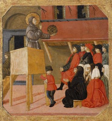Image for San Bernardino of Siena Preaching