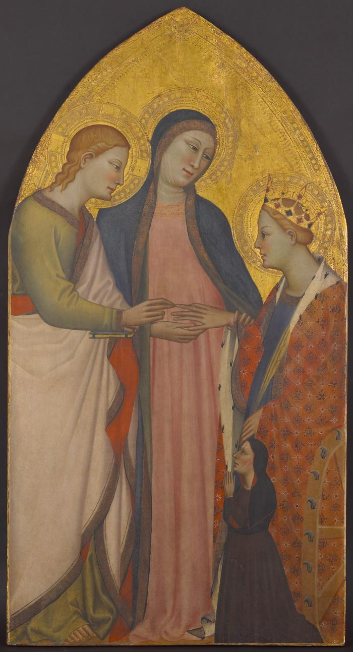 Image for Mystic Marriage of Saint Catherine of Alexandria with Donor