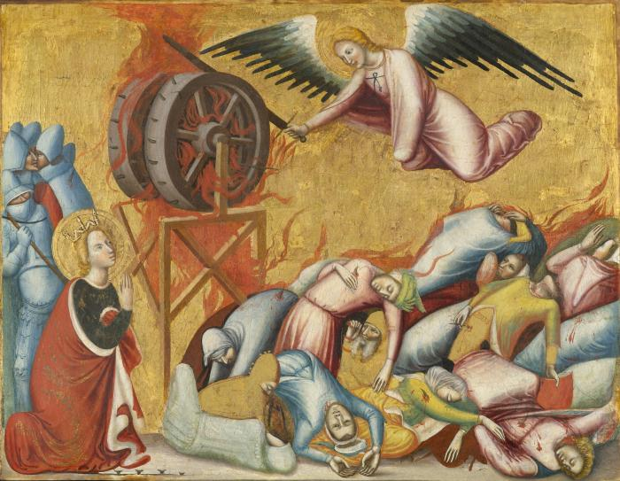 Image for Saint Catherine of Alexandria Freed from the Wheel