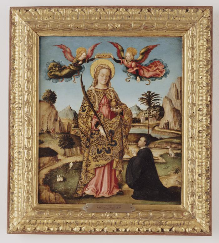 Image for Saint Lucy and Kneeling Donor