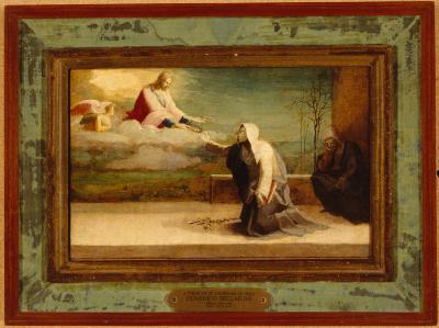 Image for Vision of Saint Catherine of Siena, A