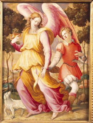 Image for The Archangel Raphael with Tobias