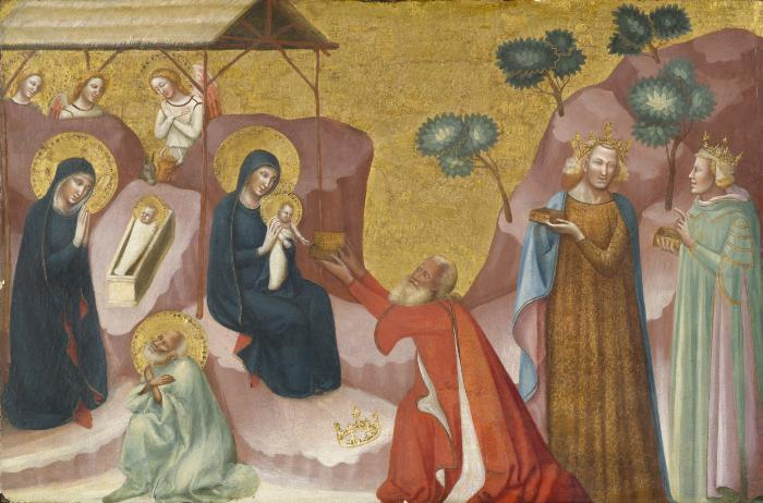 Image for The Nativity and the Adoration of the Magi