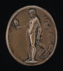 Image for Allegorical Male Figure