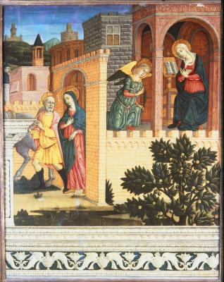 Image for The Annunciation and the Journey to Bethlehem