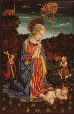 Image for Madonna Adoring the Christ Child
