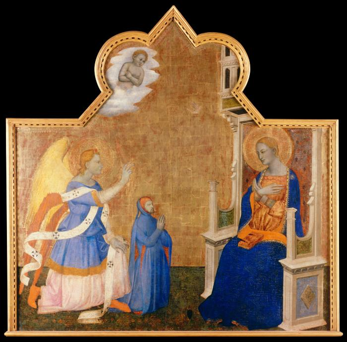 Image for Annunciation with Donor