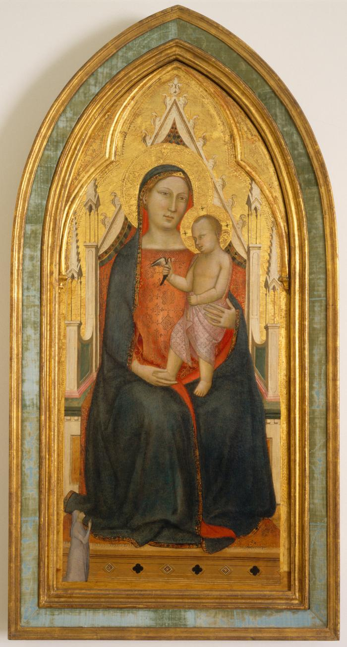 Image for Virgin and Child with Donor
