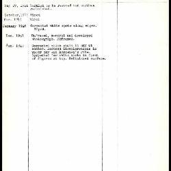 Image for K0163 - Work summary log, 1941-1949