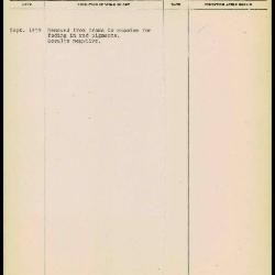 Image for K2125 - Work summary log, 1959
