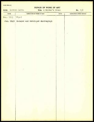 Image for K0291 - Work summary log, 1943-1949