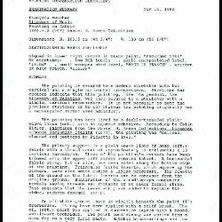 Image for K1337 - Examination summary and treatment proposal, 1990