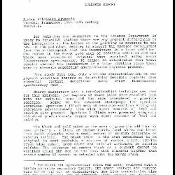 Image for K1531 - Scientific analysis report, 1989