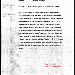 Image for K1337 - Alan Burroughs report, circa 1930s-1940s