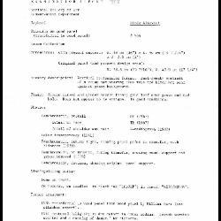 Image for K1239 - Examination summary, 1982