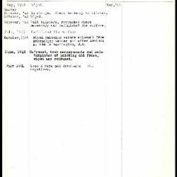 Image for K1239 - Work summary log, 1942-1954