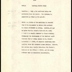 Image for K1333 - Alan Burroughs report, circa 1930s-1940s