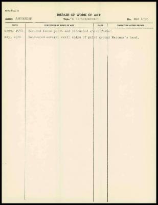 Image for K2052 - Work summary log, 1954-1970