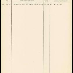 Image for K1999 - Work summary log, 1970