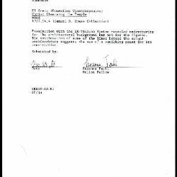 Image for K2127 - Examination summary, 1987