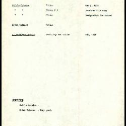 Image for K0390 - Art object record, circa 1930s-1950s