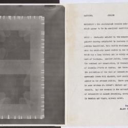 Image for K0325 - Alan Burroughs report, circa 1930s-1940s