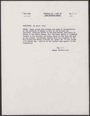 Image for K0227 - Alan Burroughs report, circa 1930s-1940s