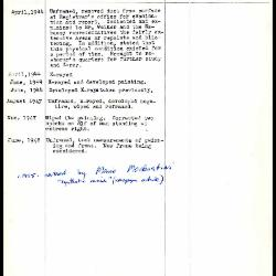 Image for K1413 - Work summary log, 1944-1955