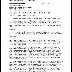 Image for K1395 - Examination summary, 1990
