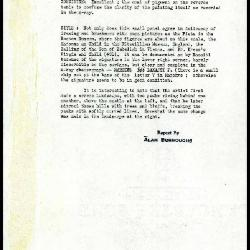 Image for K0287 - Alan Burroughs report, circa 1930s-1940s