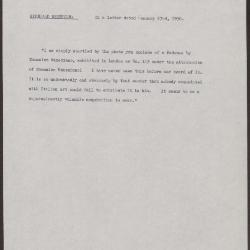 Image for K0410 - Expert opinion by Berenson, 1930