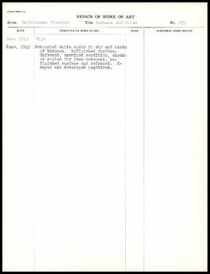 Image for K0247 - Work summary log, 1943-1945