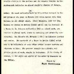 Image for K0410 - Alan Burroughs report, circa 1930s-1940s