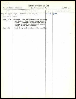 Image for K1077 - Work summary log, 1941-1963
