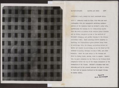 Image for K1077 - Alan Burroughs report, circa 1930s-1940s