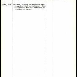 Image for K1383 - Work summary log, 1948