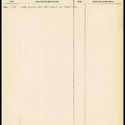 Image for K1549 - Work summary log, 1964