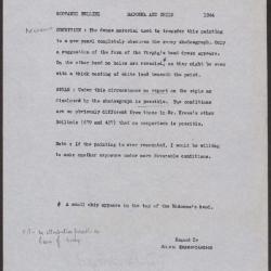 Image for K1244 - Alan Burroughs report, circa 1930s-1940s