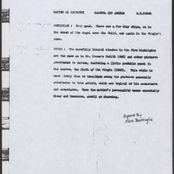 Image for K0517 - Alan Burroughs report, 1939