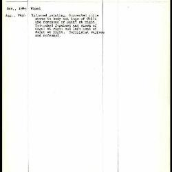 Image for K0517 - Work summary log, 1943-1946