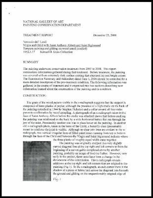 Image for K1346 - Treatment report, 2008