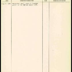 Image for K1689 - Work summary log, 1962