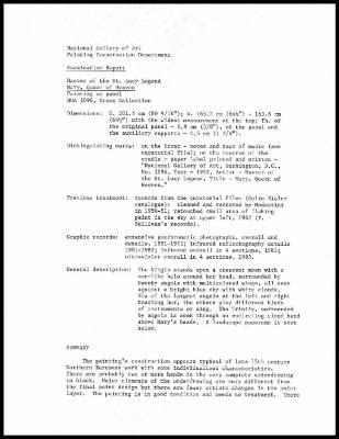 Image for K1689 - Examination summary, undated
