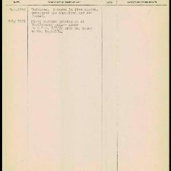 Image for K1646 - Work summary log, 1950-1953