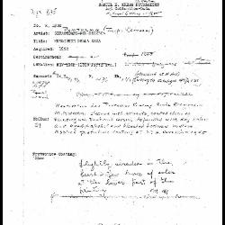 Image for K1902 - Condition and restoration record, circa 1950s-1960s