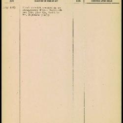 Image for K1889 - Work summary log, 1953