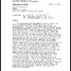 Image for K1428 - Examination summary, 1988