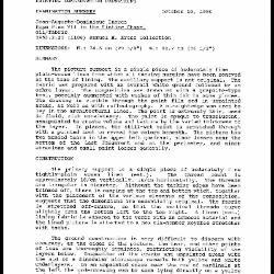 Image for K1649 - Examination summary, 1990
