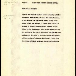 Image for K1390 - Alan Burroughs report, circa 1930s-1940s