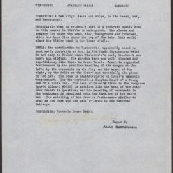 Image for K0210 - Alan Burroughs report, circa 1930s-1940s